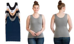 6-pack Of Plus-size Basic Seamless  Women
