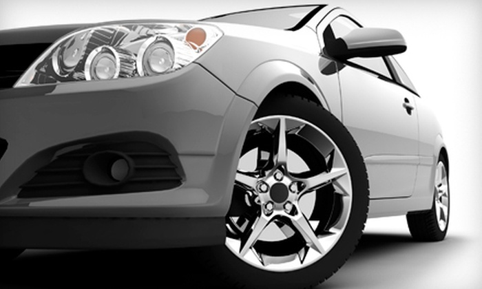 Great American Car Wash - Fresno: Month of Speed Washes, Wax Package, or Car-Wash and Detailing Services at Great American Car Wash (Up to 76% Off)