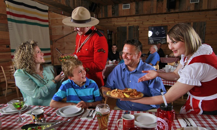 """""""Oh Canada Eh? Dinner Show"""" - Oh Canada, Eh? Theatre: """"Oh Canada Eh? Dinner Show,"""" April 10–August 31 (Up to 56% Off)"""