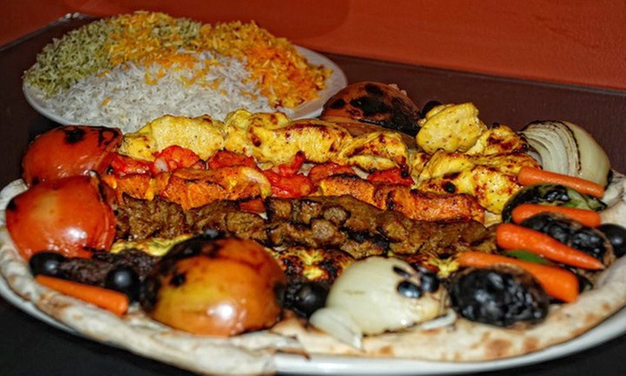 Shish Kabob - Nashville: Middle Eastern Cuisine at Shish Kabob (Up to 48% Off). Two Options Available.