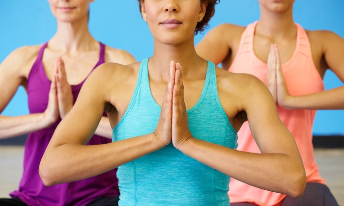 Prana Power Yoga - Multiple Locations: 10 Classes or One Month of Unlimited Classes at Prana Power Yoga (Up to 58% Off)