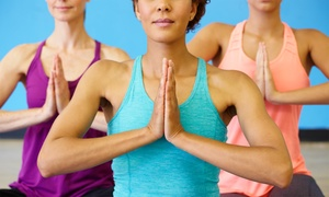 Yoga Fit UK: Five or Ten Yoga Classes at Yoga Fit UK (Up to 62% Off)