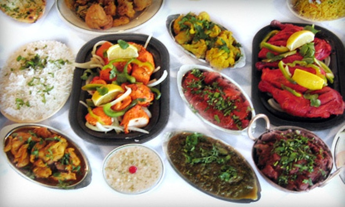 Bombay Restaurant Cuisine of India - Ontario: Indian Cuisine for Two or More or Four or More, or Meal for Two at Bombay Restaurant Cuisine of India (Up to Half Off)