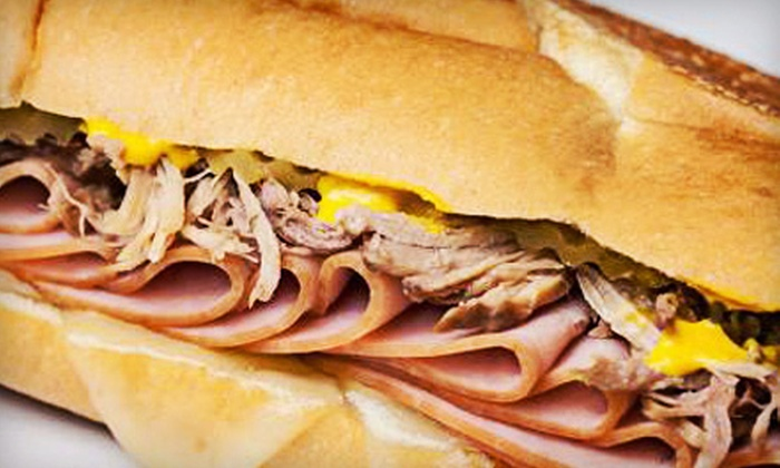 Mad Cuban Cafe - Simpsonville: $7 for $14 Worth of Cuban Cuisine at Mad Cuban Cafe