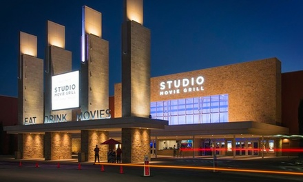 $5 for One Movie Ticket at Studio Movie Grill (Up to $10.50 Value)