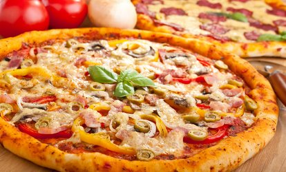 $19 for Two Popular Range Large Pizzas at Olive's Pizza East Tamaki (Up to $29.98 Value)