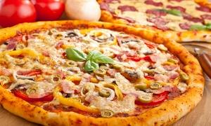 Pizzeria Szajbowe Trio: Dowolna pizza o średnicy 40 cm za 16,99 zł w Pizzerii Szajbowe Trio w Gdyni (do -50%)