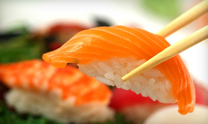 Radford Sushi Village - Hethwood - Prices Fork: Fresh Sushi for Two or Four at Radford Sushi Village (Half Off)
