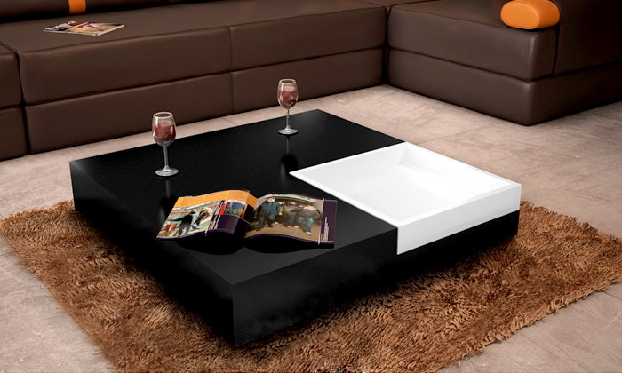 table basse groupon shopping. Black Bedroom Furniture Sets. Home Design Ideas