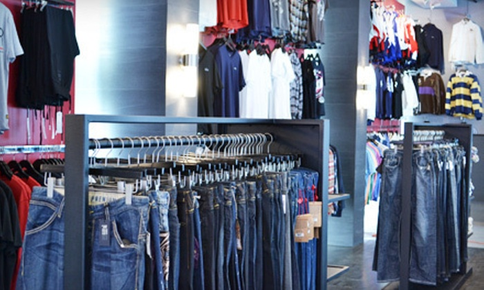Oznico Fashion Retailers - Stapleton: $89 for $150 Worth of Designer Menswear at Oznico Fashion Retailers
