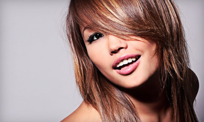 Scissorhands Hair Studio - Kernersville: Haircut and Style Package with Optional Color or Highlights at Scissorhands Hair Studio in Kernersville (Up to 70% Off)