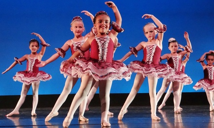 8 or 12 Weeks of Kids' Ballet/Tap combo Dance Classes (Up to 58% Off)