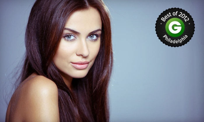 Tundella & Co. - Center City East-Old City: Haircut with Optional Color, Organic Keratin Treatment, or 16- or 20-Inch Extensions at Tundella & Co. (Up to 71% Off)