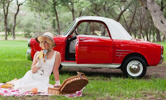 Motostalgia - The Long Center: One-Day or Weekend Visit to a Vintage-Car Event from Motostalgia (Up to 40% Off)