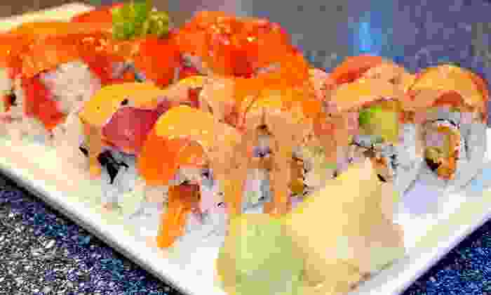 Samurai Sushi - Rancho Cordova: Asian Food and Sushi at Samurai Sushi (40% Off). Two Options Available.