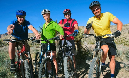 Half-Day Intro to Mountain Biking Trip for One or Two from Apex Ex (Up to 62% Off)