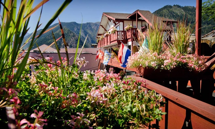 Obertal Inn - Leavenworth, WA: One- or Two-Night Stay with Daily Netflix and Mimosas at Obertal Inn in Leavenworth, WA