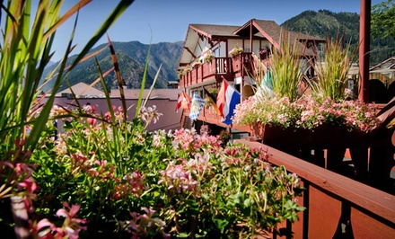 One- or Two-Night Stay with Daily Netflix and Mimosas at Obertal Inn in Leavenworth, WA from Obertal Inn -