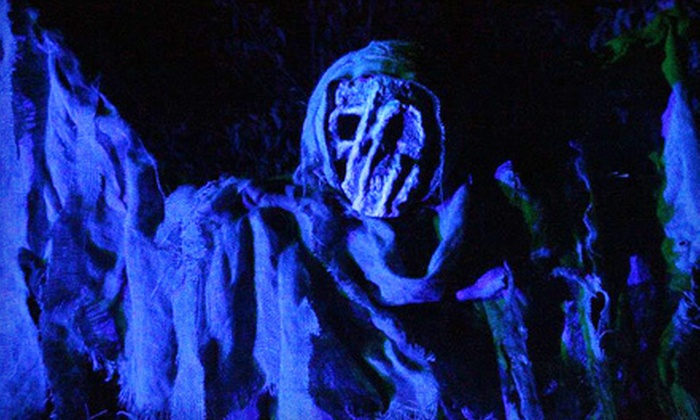Scream Country Haunted Forest - Drumright: Haunted Outing for Two or Four to Scream Country Haunted Forest (Half Off)