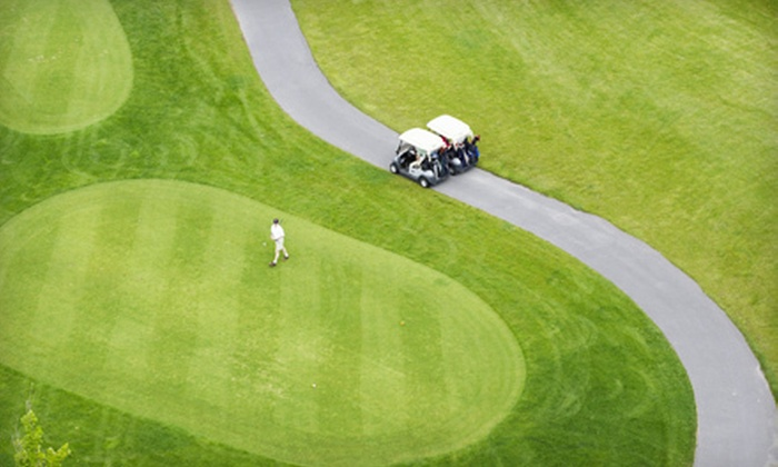 Hickory Ridge Golf & Country Club - Maplewood: 18-Hole Round of Golf for Two or Four with Cart Rental at Hickory Ridge Golf & Country Club in Holley (Up to 54% Off)