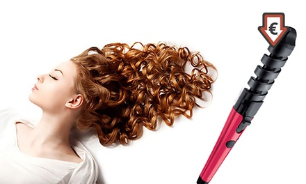 Rizador de pelo con recubrimiento de cerámica