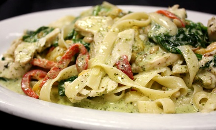 Italian Food for Lunch or Dinner at 3 Olives (Up to Half Off)