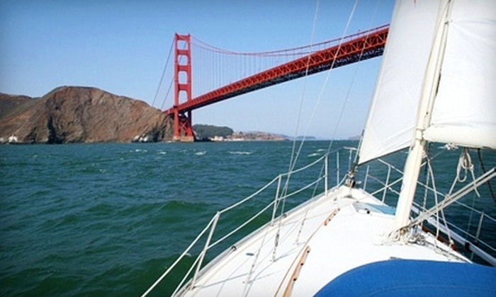 Golden Gate Sailing Tours - Treasure Island: $75forThree-Hour Sailing Tour for Two from Golden Gate Sailing Tours (Up to$150 Off)