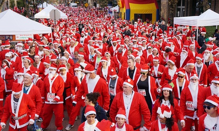 One Child or Adult Registration for 5k Run or One-Mile Fun Walk at North Texas Great Santa Run (34% Off)