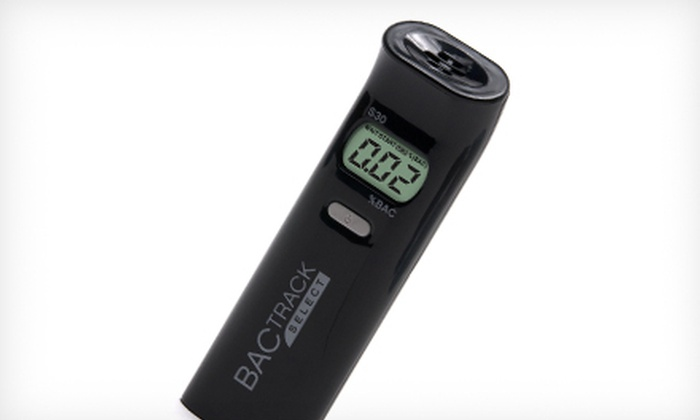 BACtrack Personal Breathalyzer: $28 for a BACtrack S30 Personal Breathalyzer ($69.99 List Price). Free Shipping.