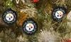 52% Off a Set of Six NFL Team Ornaments