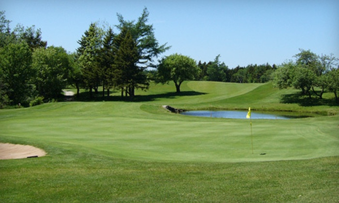 Clare Golf & Country Club - Saulnierville: 18-Hole Round of Golf with Cart Rental for Two or Four at Clare Golf & Country Club in Comeauville (Up to 55% Off)