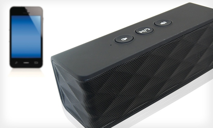 Urge Basics Bluetooth Speaker: $39.99 for an Urge Basics Bluetooth Speaker ($79.99 List Price). 5 Colors Available. Free Shipping and Returns.