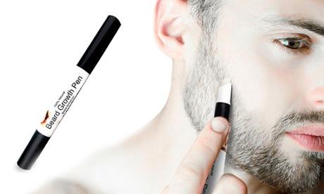 1 o 2 bolígrafos para el crecimiento de la barba y el bigote