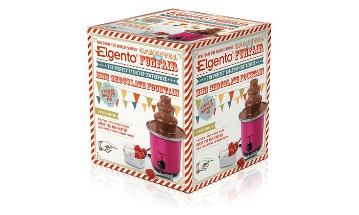 Mini Chocolate Fountain Groupon Goods