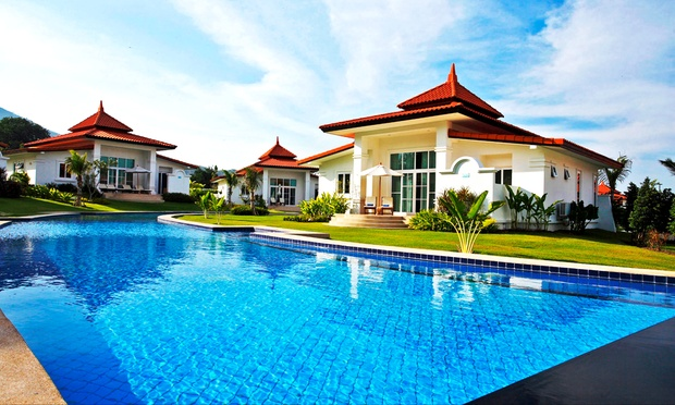 Hillside Pool Villa in Hua Hin 0