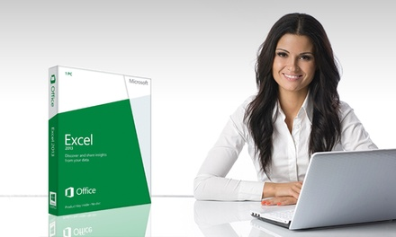 12 Months of Online Access to Excel Certification Courses for 1 or 10 People from GoSkills (Up to 93% Off)