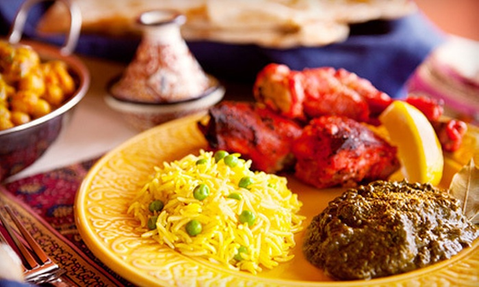 India House Restaurant - Rockford: Indian Fare for Lunch or Dinner at India House Restaurant in Loves Park (Up to 53% Off)