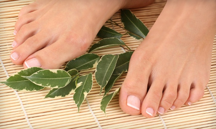 Laser Health Centre - Chilliwack Proper Village West: Laser Toenail-Fungus Removal Treatments at Laser Health Centre (Up to 82% Off). Three Options Available.