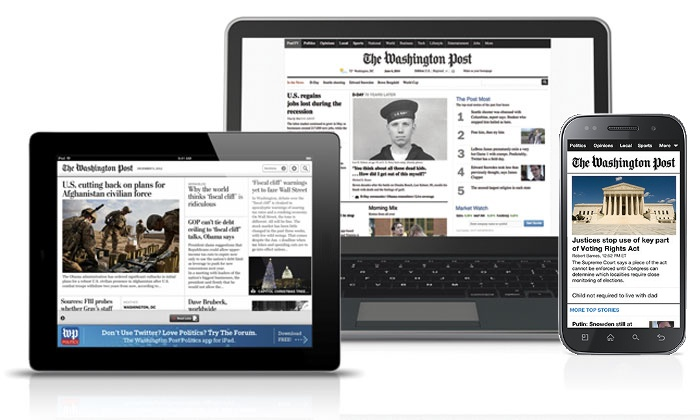 The Washington Post: $19 for One Year Digital Premium Access to The Washington Post ($149 Value)