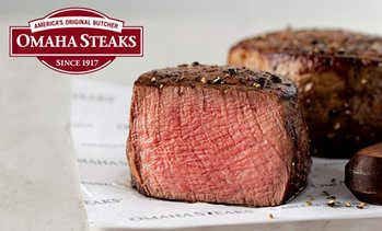 Up to 59% Off Steak Packages from Omaha Steaks
