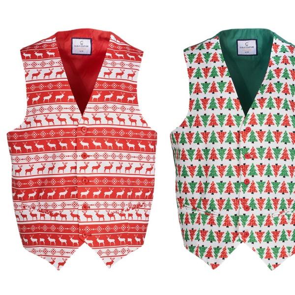 Christmas Vest.Suslo Couture Men S Christmas Vest