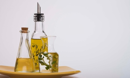 $34.99 for Three Bottles of Specialty Oils or Vinegars at Kitchen Gadgets and Beyond ($59.85 Value)