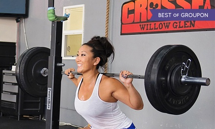 One- or Two-Month Membership to CrossFit Willow Glen (Up to 74% Off)