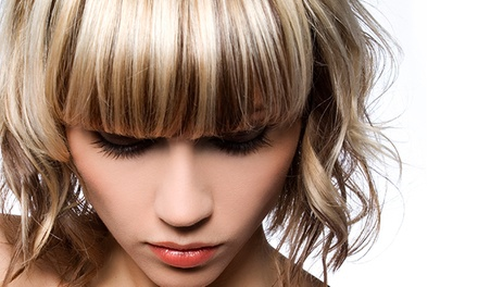 Haircut with Optional Partial Highlights or Full Color at Setara Hair Studio - Loann Phan (Up to 62% Off)