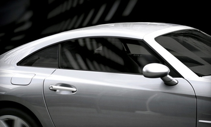 Tint King - Lawrence: Automobile Window Tinting for Two Side Windows or the Full Vehicle at Tint King (Up to 67% Off)