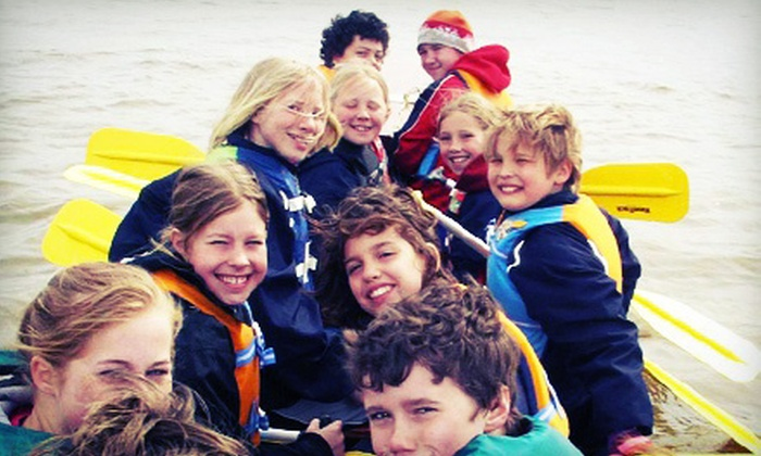 Manitoba Paddling Association - Riverview: Kids' Dragon-Boat Camp or Intro Kayak Class at Manitoba Paddling Association (Up to 53% Off). Four Options Available.