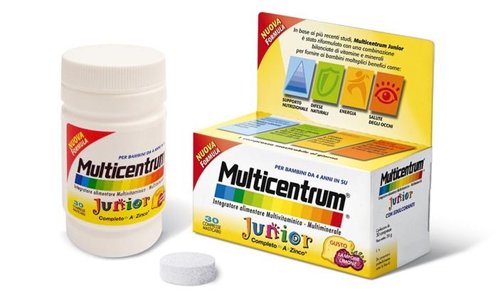 Integratore alimentare Multicentrum Junior