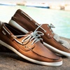 $39 for Men's Nautica Leather Boat Shoes
