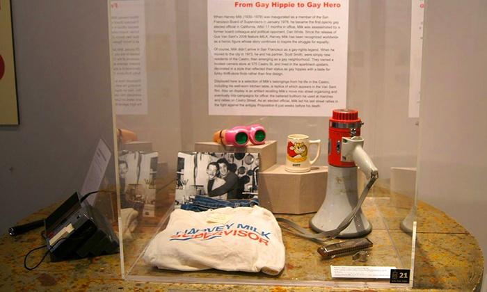 The GLBT History Museum - San Francisco: Admission for 2, 4, 6, or Up to 15 at The GLBT History Museum (Up to 52% Off)