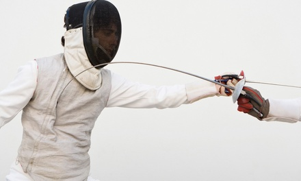 90Minute Intro to Fencing Class for One or Two at Rochester Fencing Club (Up to 75% Off)